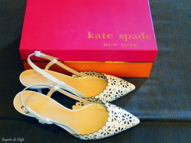 wedding shoes by Kate Spade