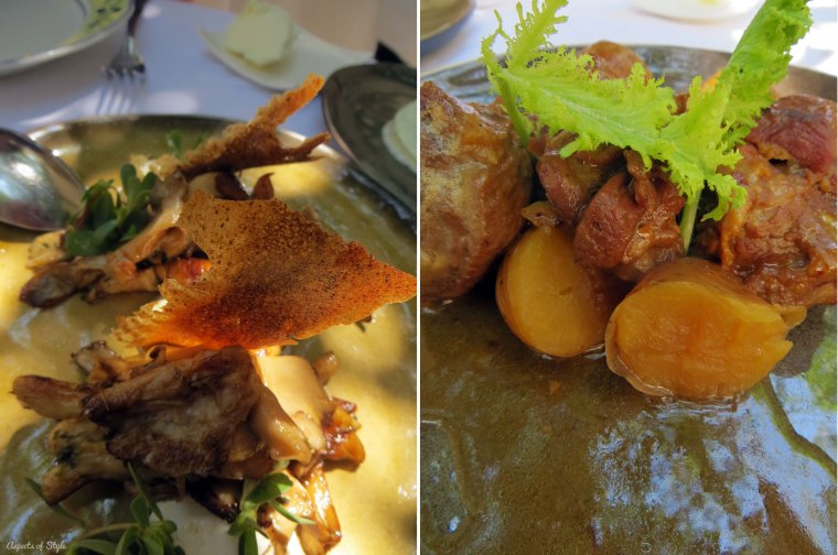 Avli restaurant Rethymno food