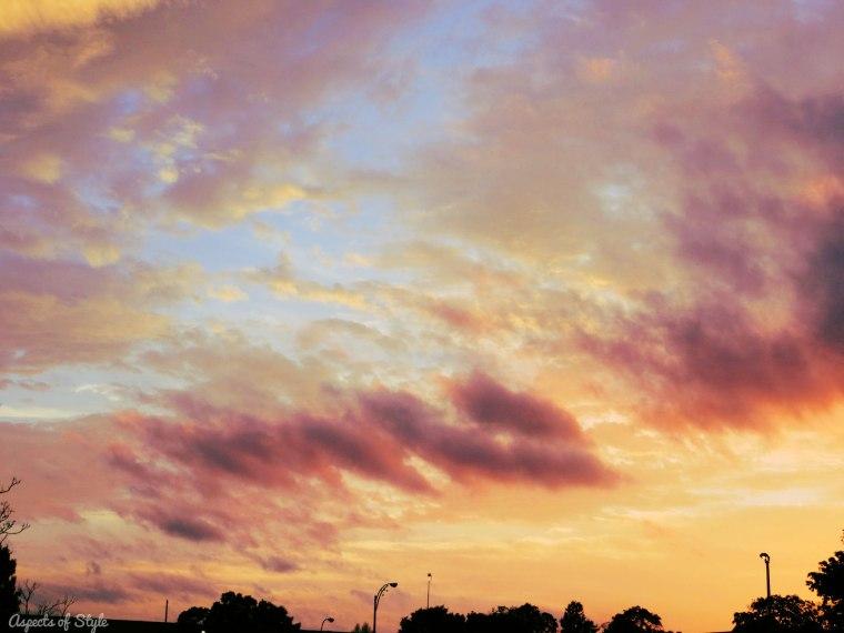 dreamy sunset Somerville