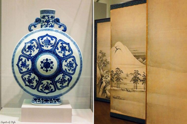 chinese vase| japanese exhibit