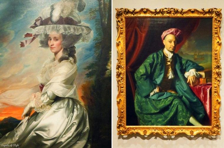 portraits by John Singleton Copley