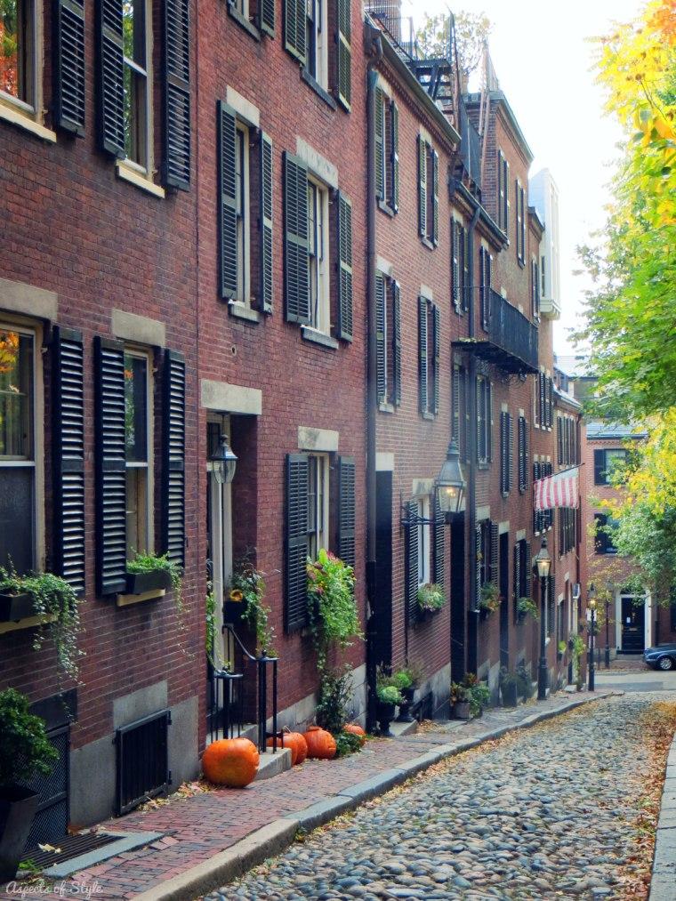 Acorn Street Boston.
