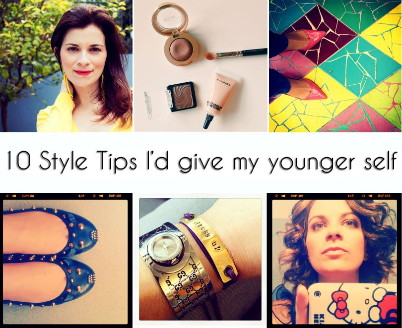 style tips I'd give my younger self