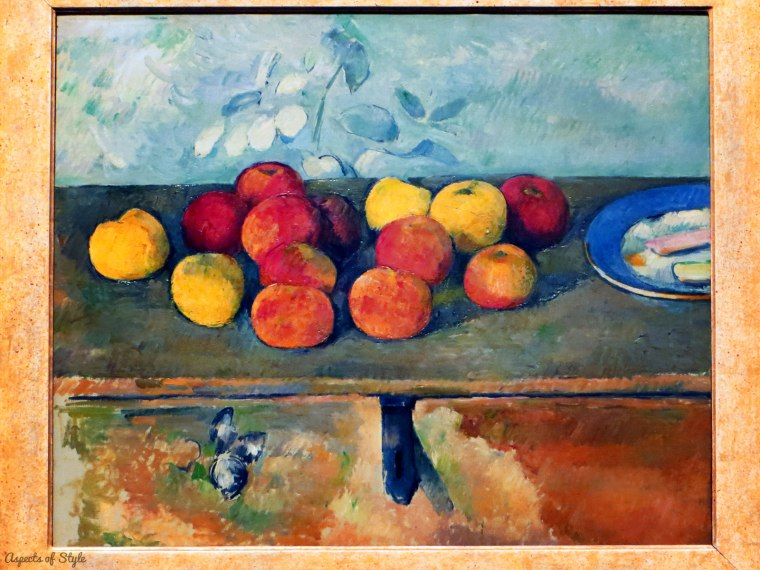 Paul Cezanne Apples and biscuits