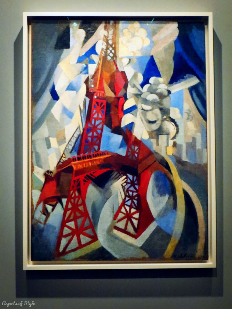 Robert Delaunay Red Eiffel Tower