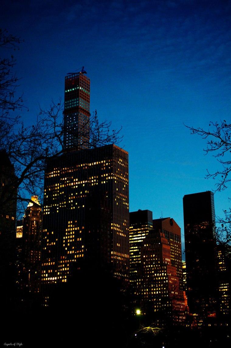 NYC at dusk