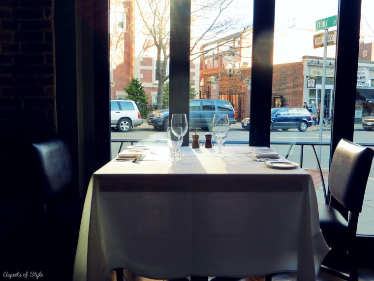 Toscano restaurant Harvard Square